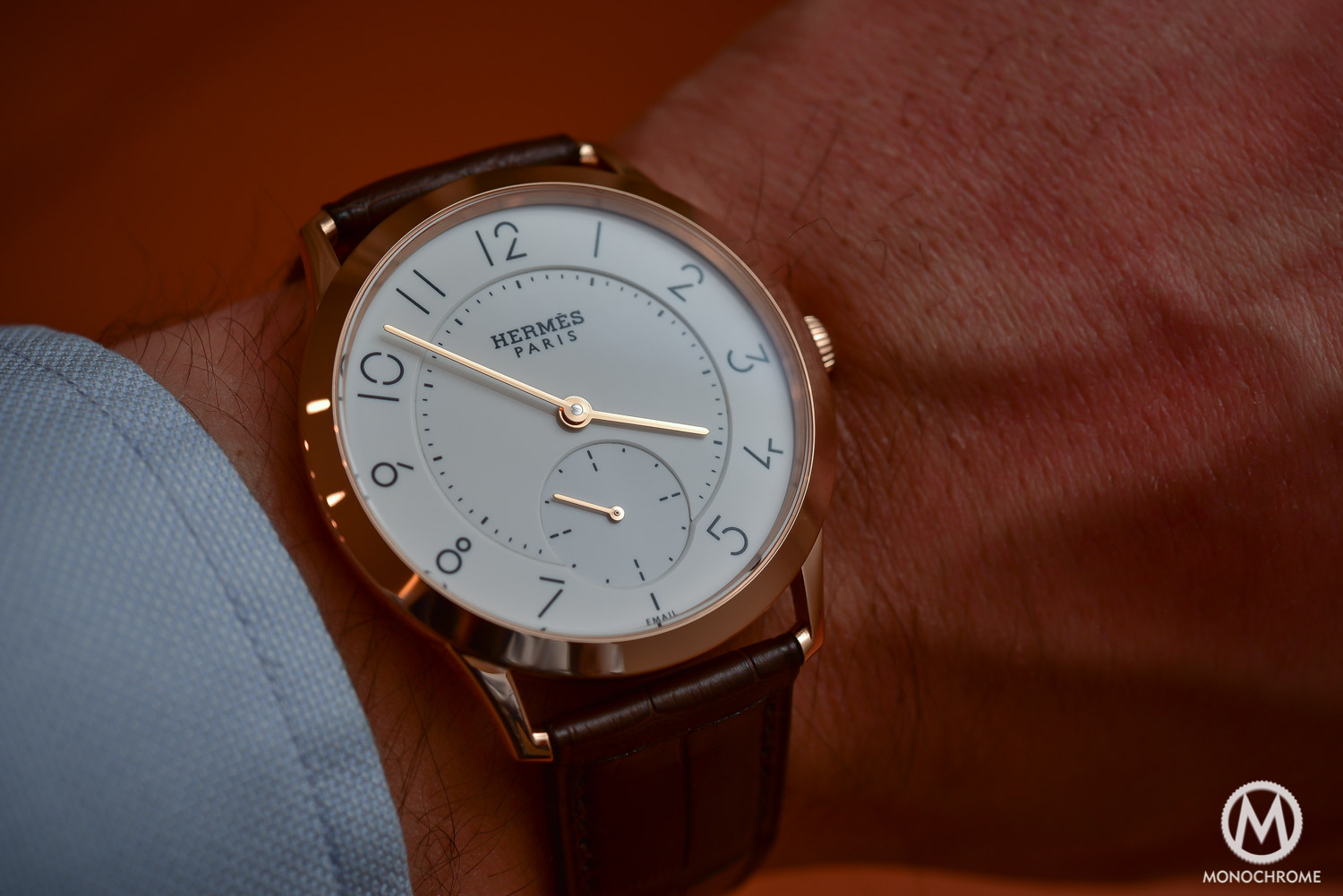 Hands-on with the Slim d'Hermès Email Grand Feu