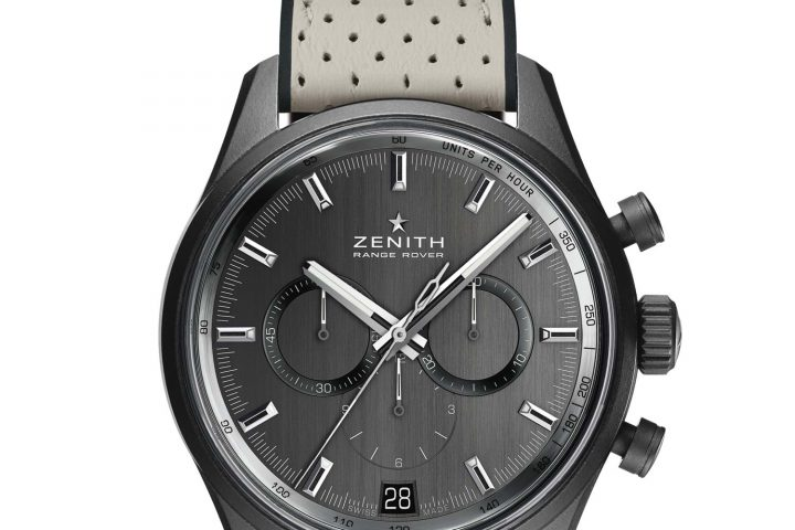 Introducing zenith el primero range rover special edition price and specs monochrome watches for Zenith watches