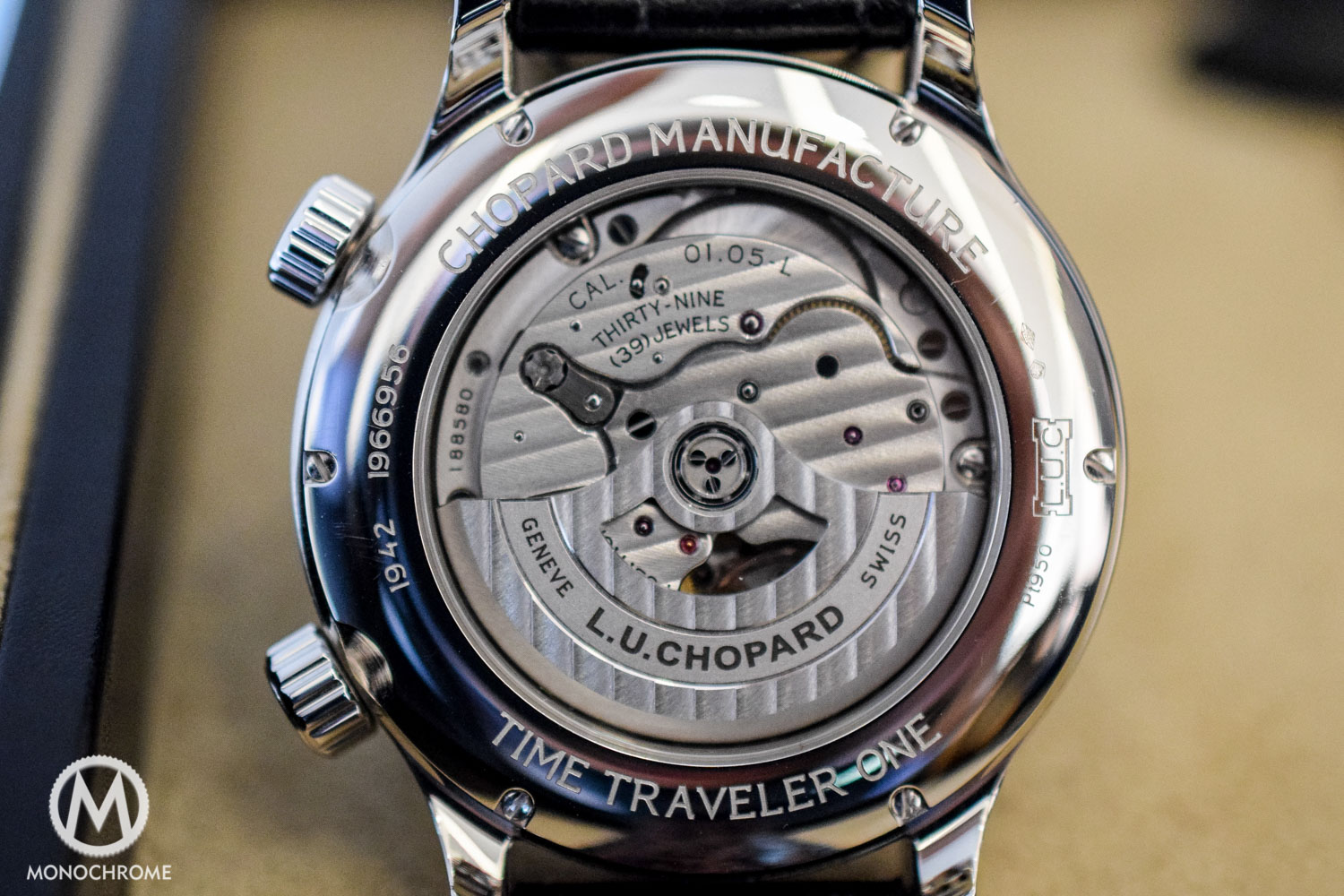 Chopard L.U.C Time Traveller One copy watch