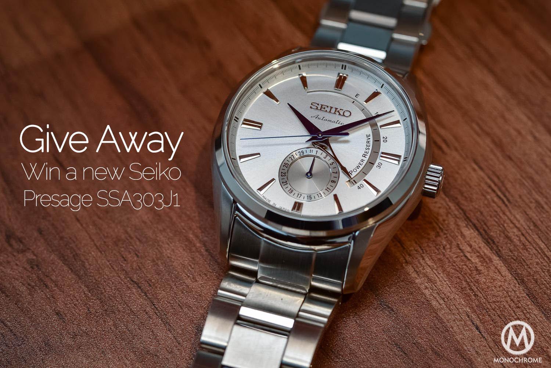 Give Away - Win Seiko Presage SSA303J1