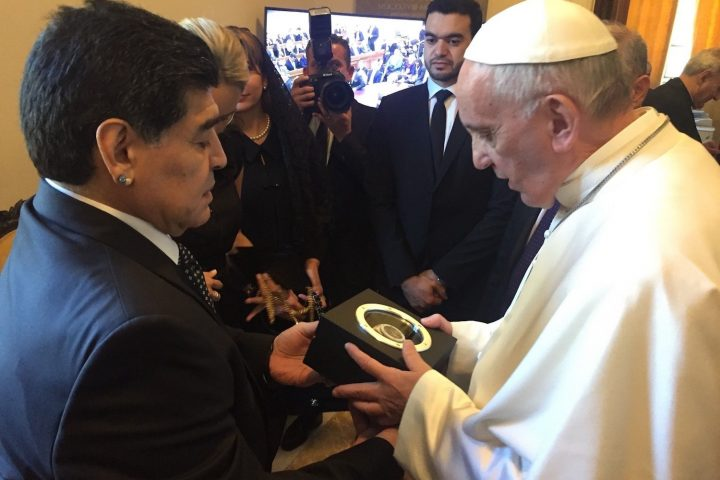 Hublot Big Bang Unico Maradona Pope