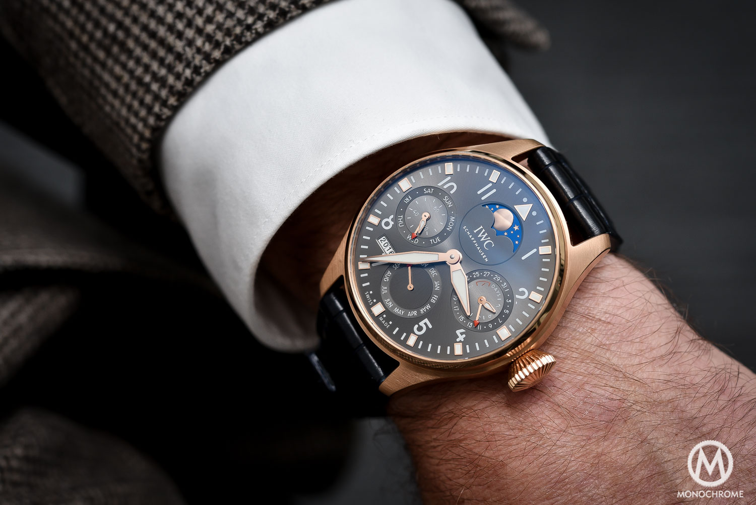 """Hands-On – IWC Big Pilot's Watch Perpetual Calendar Edition """"A Tribute to the 1st IWC Pilot's Watch"""""""