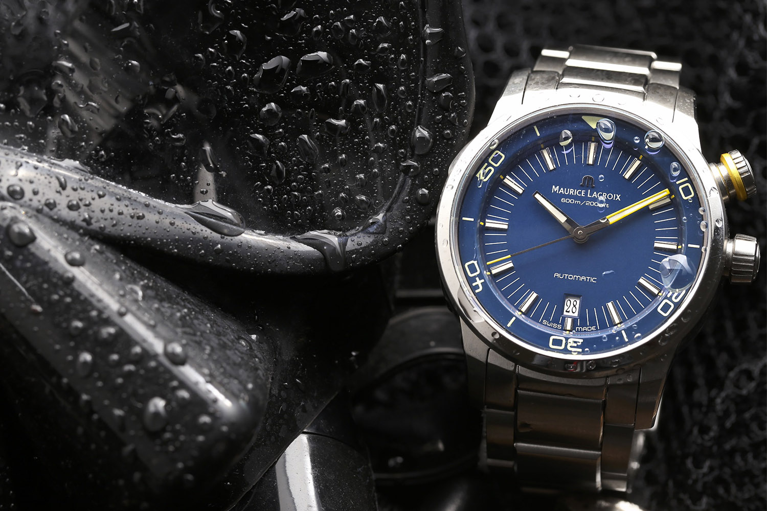 """Introducing – Maurice Lacroix Pontos S Diver """"Blue Devil"""" Limited Edition for North America – The Devil is in the Details"""