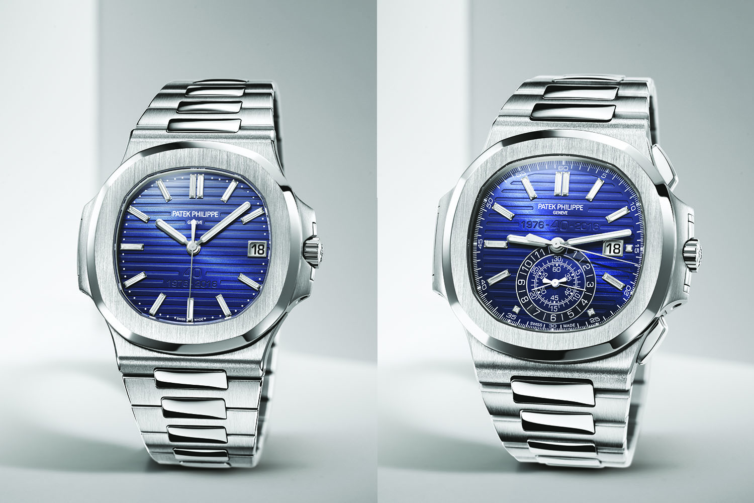 Introducing Patek Philippe Nautilus 40th Anniversary Editions