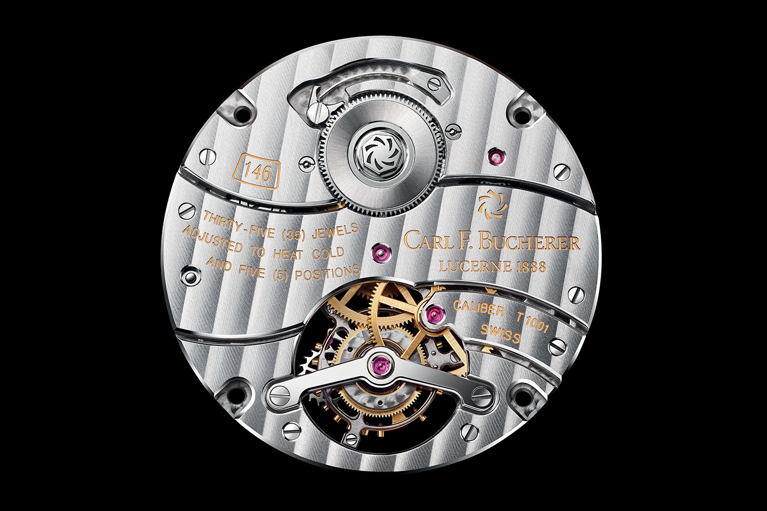 Carl F. Bucherer Manero Tourbillon Limited Edition 2016