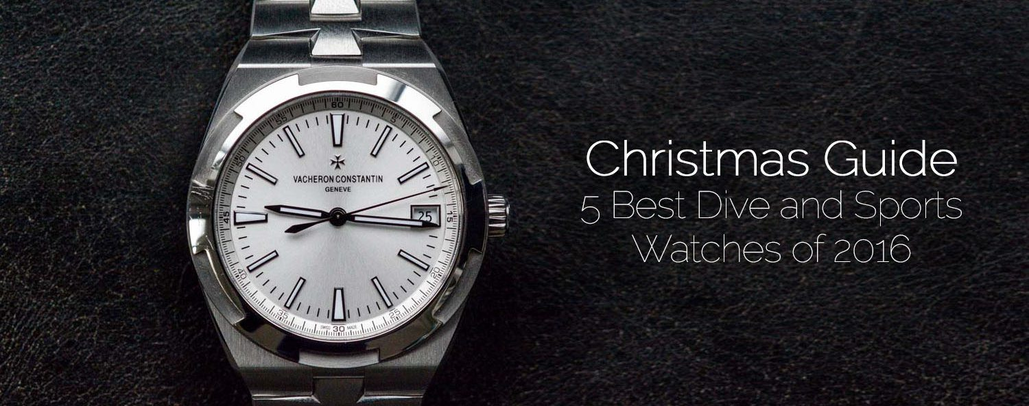 Christmas buying guide - 5 best dive sports watches 2016