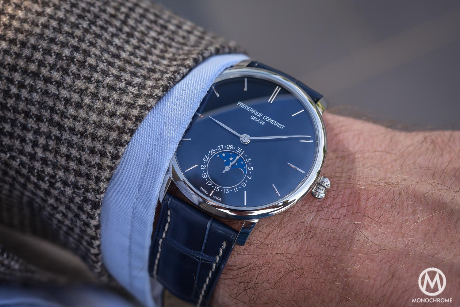 Frederique Constant Manufacture Slimline Moonphase (Review ...
