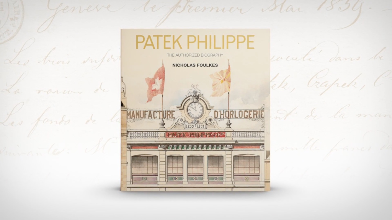 "Announcement - ""Patek Philippe: The Authorized Biography"" by Nicholas Foulkes - Available now via Patek.com - Monochrome Watches"