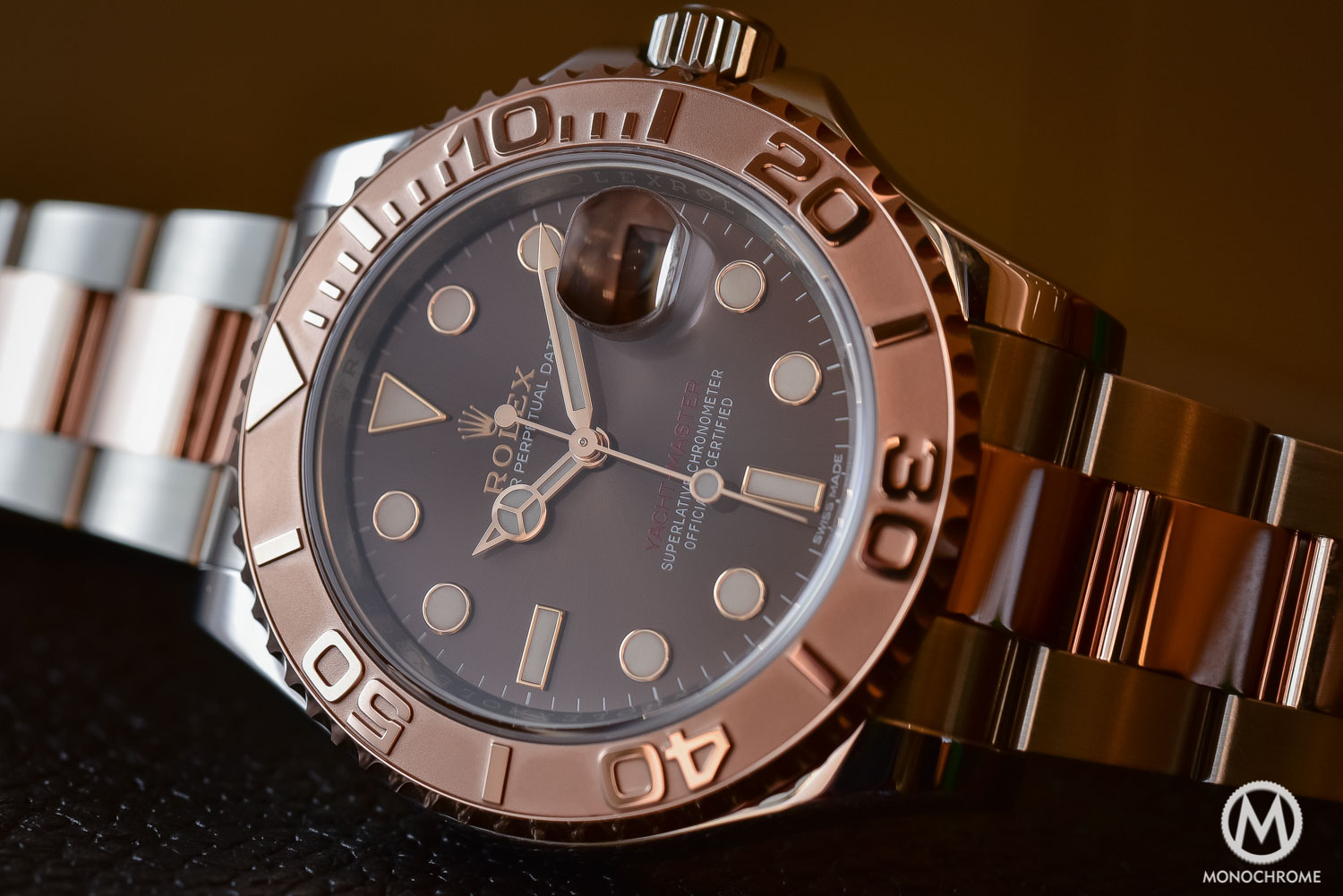 Rolex Yachtmaster 2 Gold Black