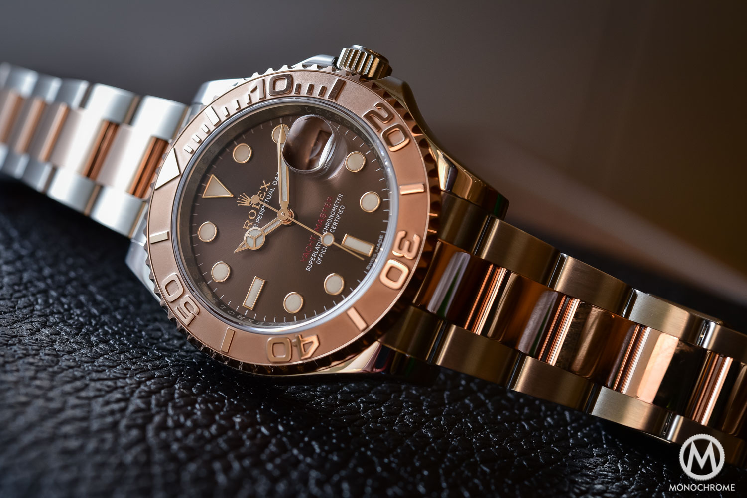 Rolex Yachtmaster Rose Gold Steel