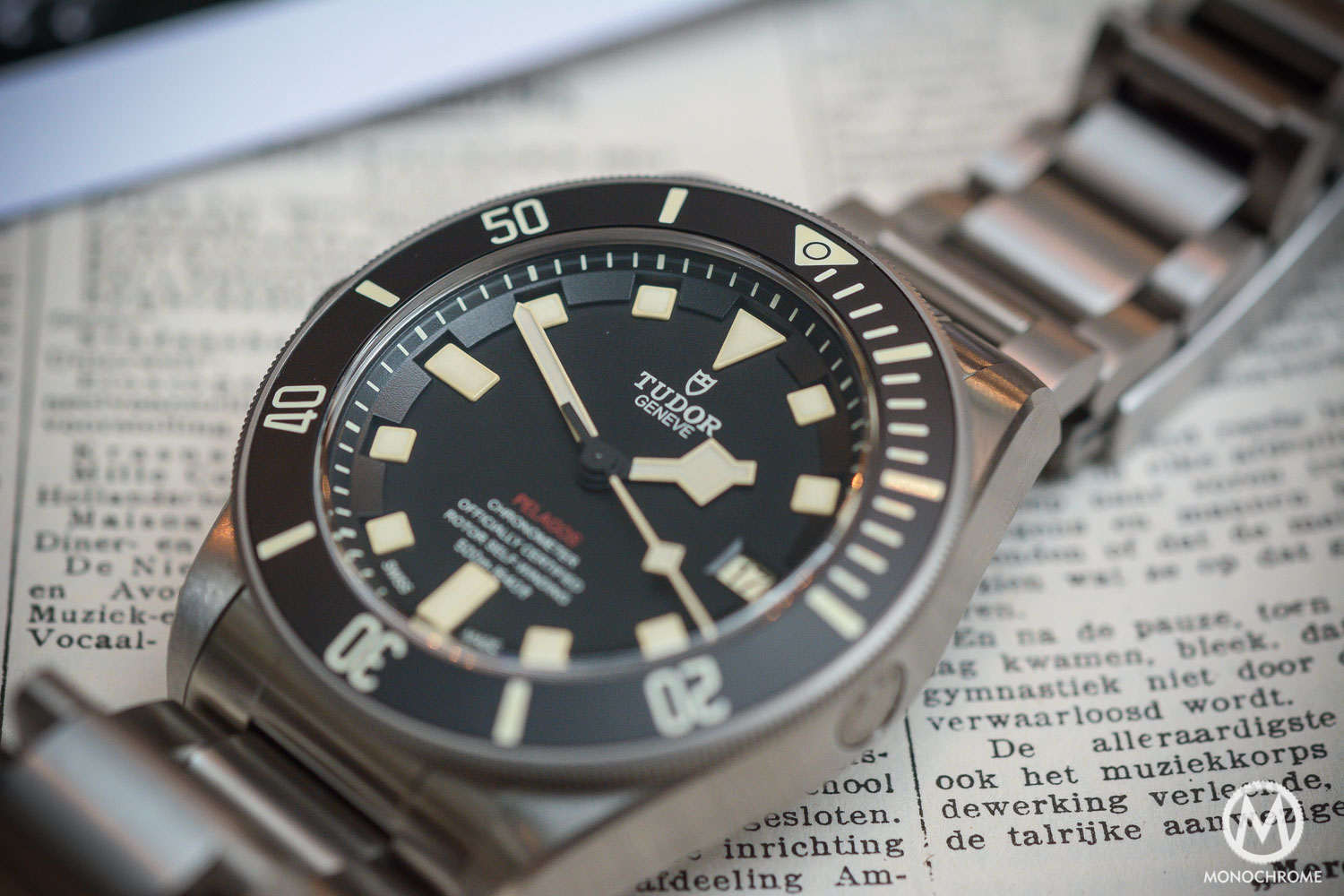 Tudor pelagos lhd 25610tnl left handed review live - Tudor dive watch price ...