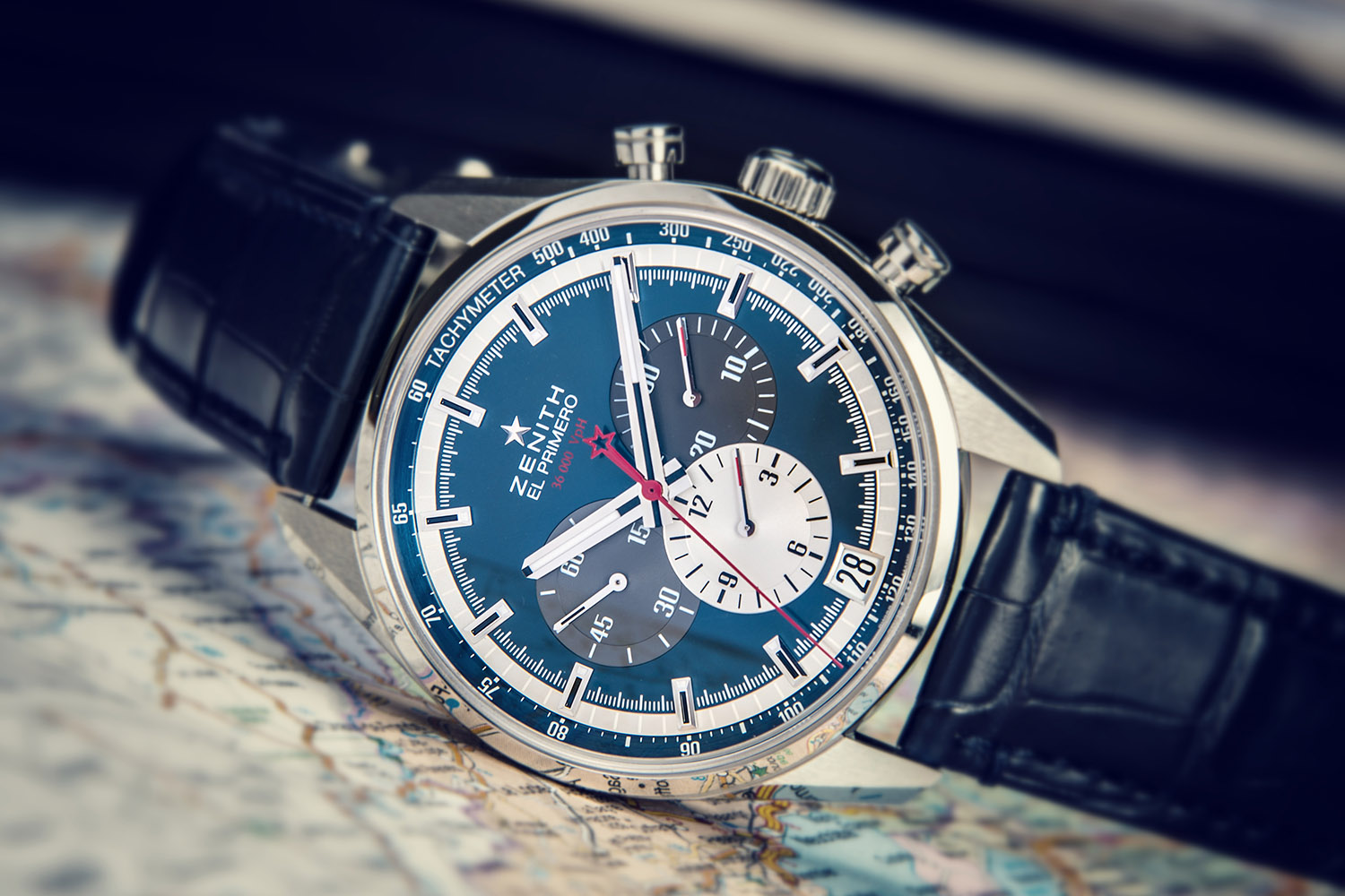Second Hand Watches >> Blue is the New Black at Zenith - 5 Iconic Pieces now Dressed in Blue - Monochrome Watches