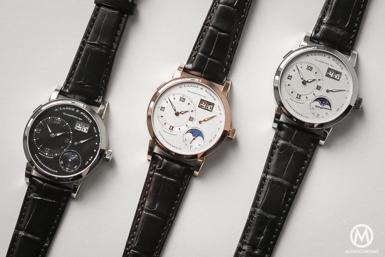A. Lange Sohne Lange 1 Moon Phase new 2017