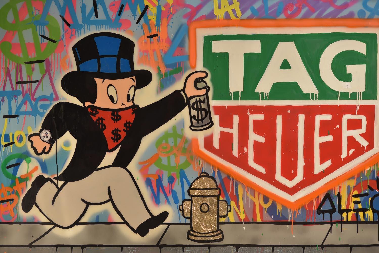 Alec Monopoly TAG Heuer Art Provocateur