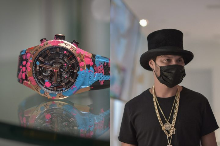 Alec Monopoly TAG Heuer Art Provocateur - Explained by Jean Claude Biver