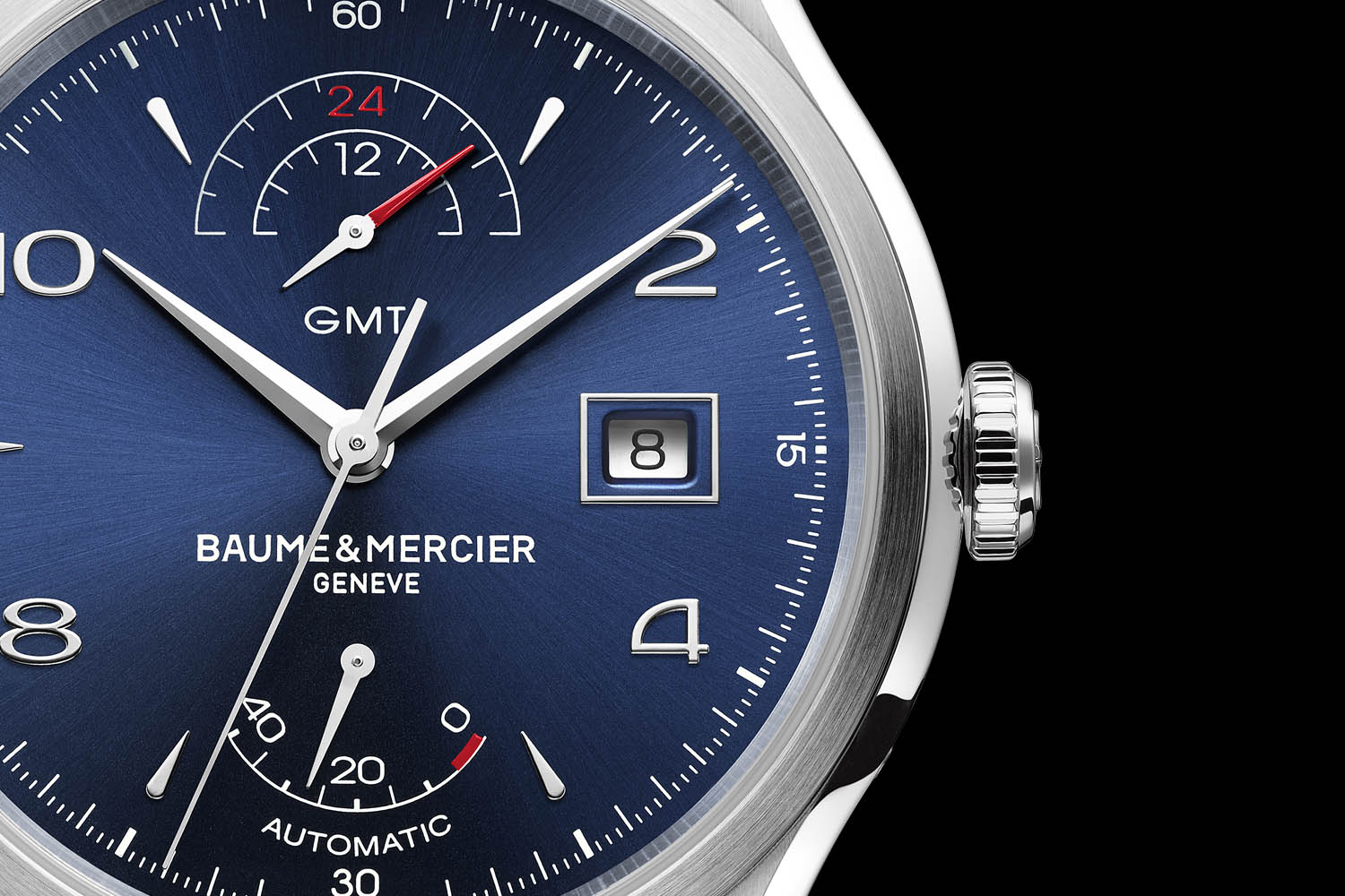 Baume & Mercier Clifton GMT Power Reserve - SIHH 2017