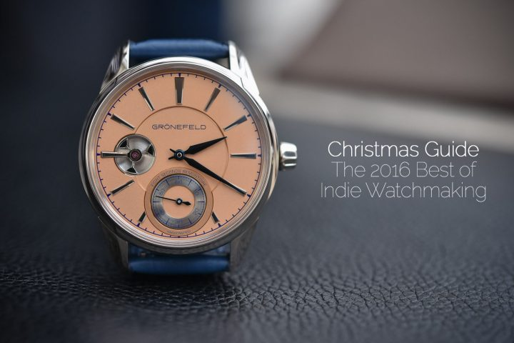 Christmas Shopping guide - Best of indie watchmaking 2016