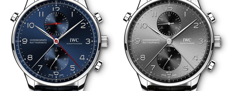 IWC Portugieser Chronograph Rattrapante Edition Boutique Munich and Rue de la Paix