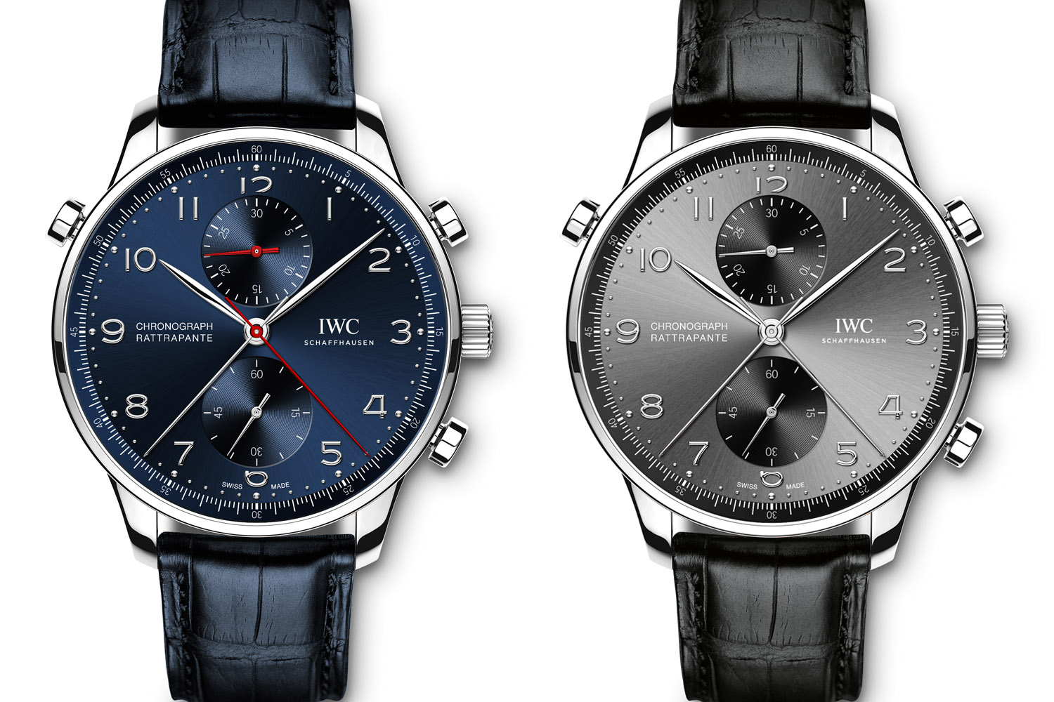 IWC Portugieser Chronograph Rattrapante Edition Boutique Munich and Rue de la Paix