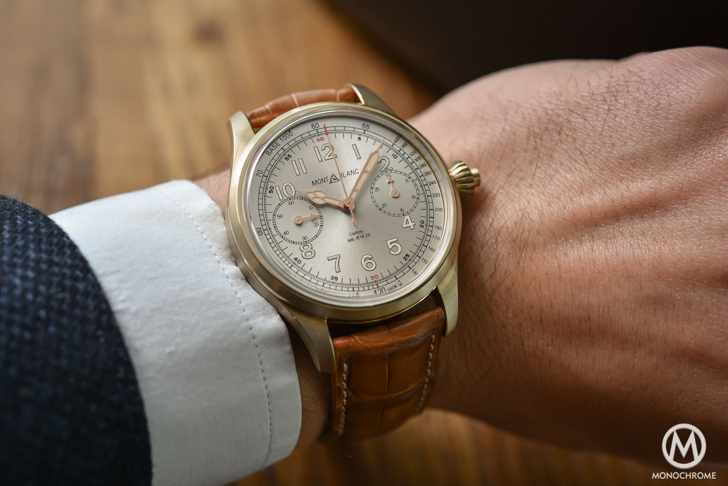 Montblanc 1858 Collection now with Bronze Cases (Review & Price)