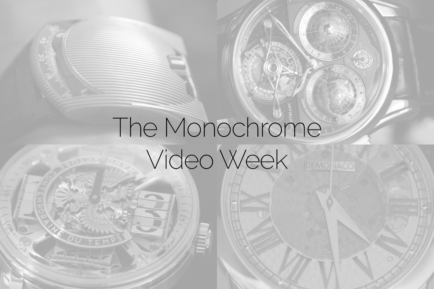The Monochrome Video Week