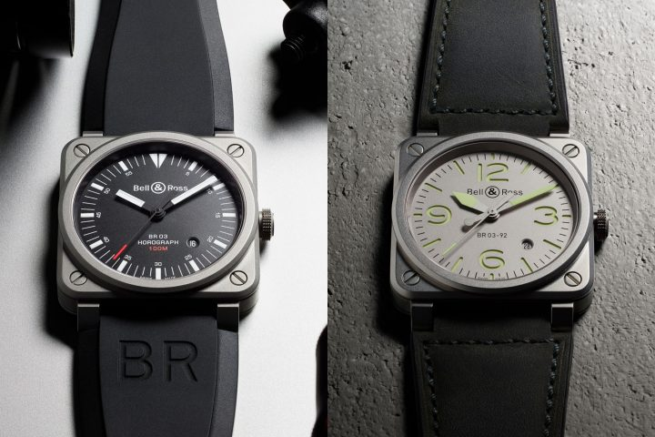 Bell and Ross BR03-92 Horograph - BR03-92 Horolum - Pre-Baselworld 2017