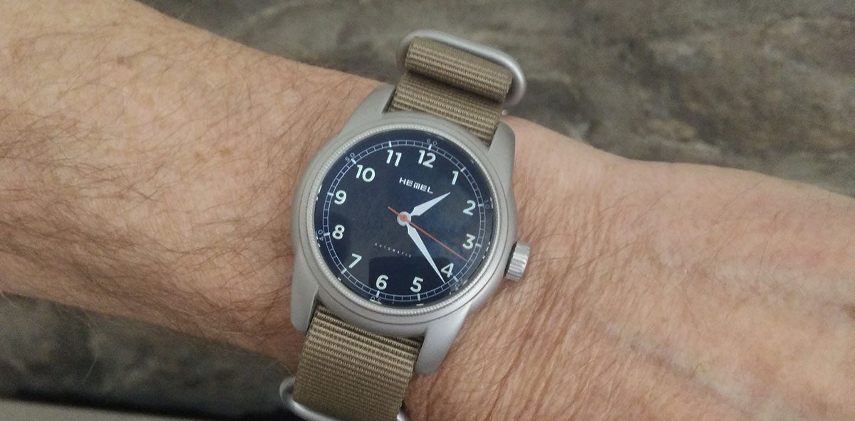 Value Proposition – Review Of The Hemel Track, A Cool Military-Inspired Field Watch