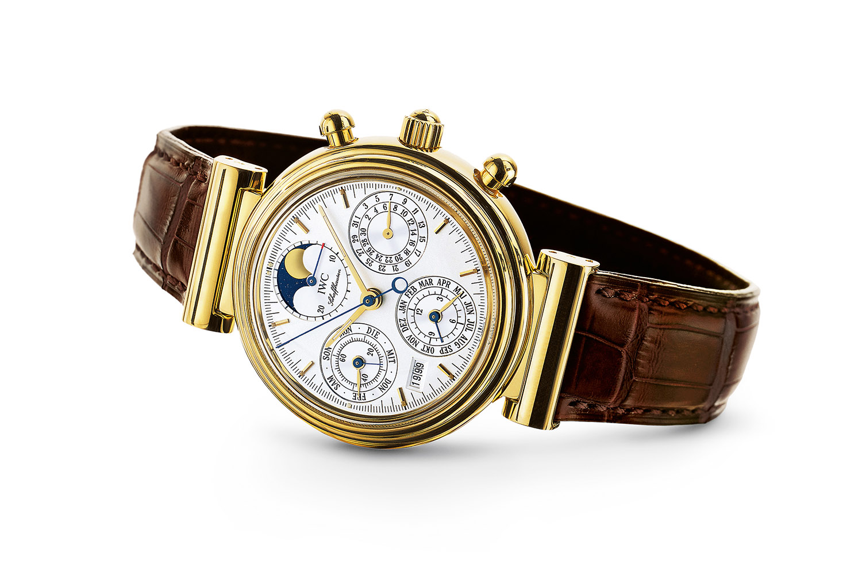 IWC da vinci perpetual chronograph 3750 vintage