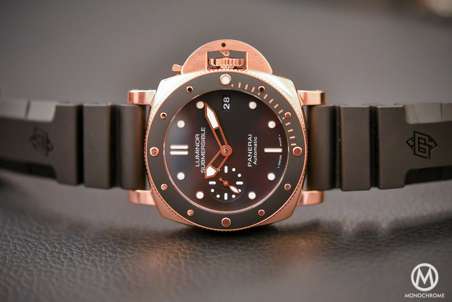 Panerai Luminor Submersible 1950 3 Days Automatic Oro Rosso copy