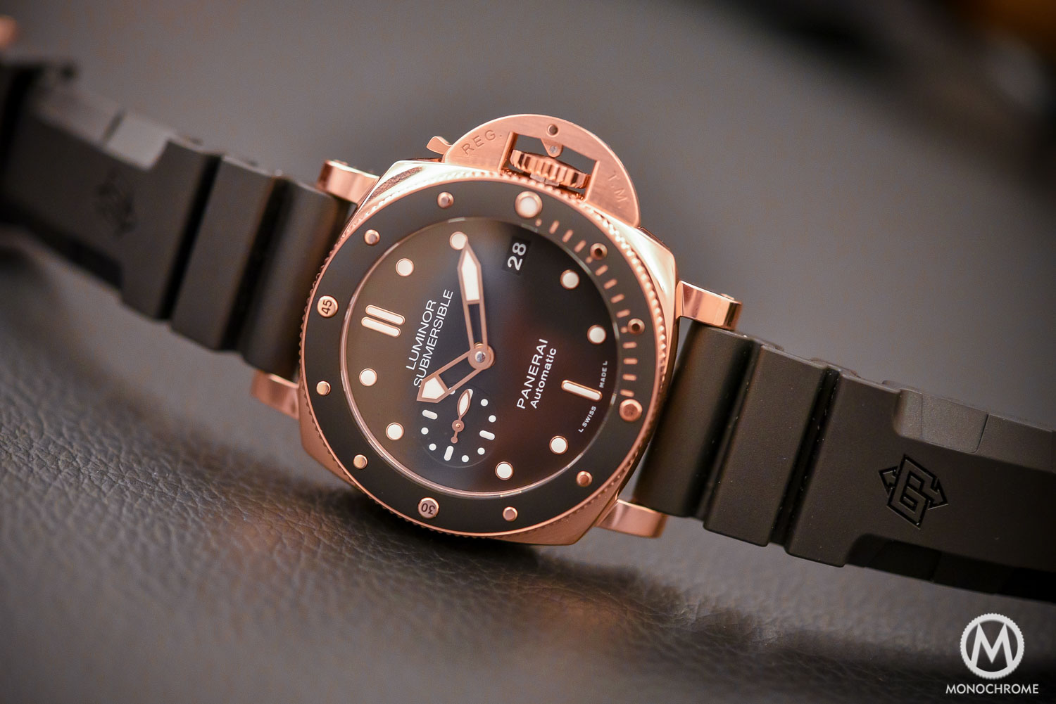 Panerai Luminor Submersible 1950 3 Days Automatic Oro