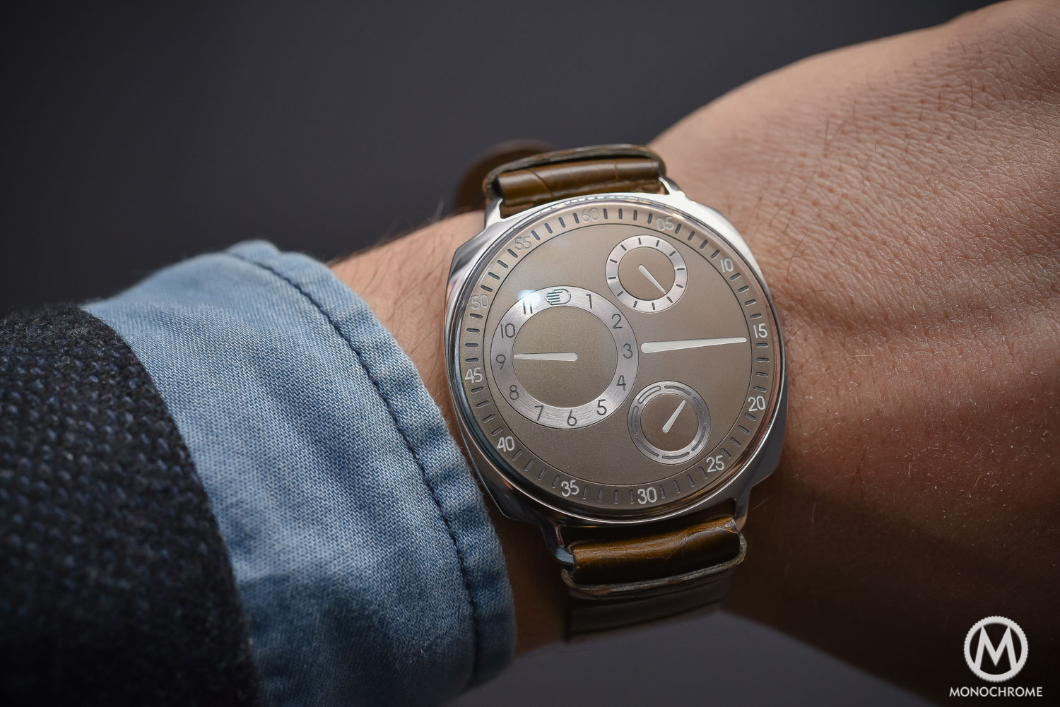 Ressence type 1 squared sihh 2017 review 1 monochrome watches for Ressence watches