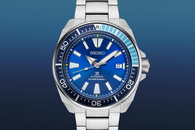 Seiko Prospex Samurai SRPB09 Blue Lagoon Limited Edition