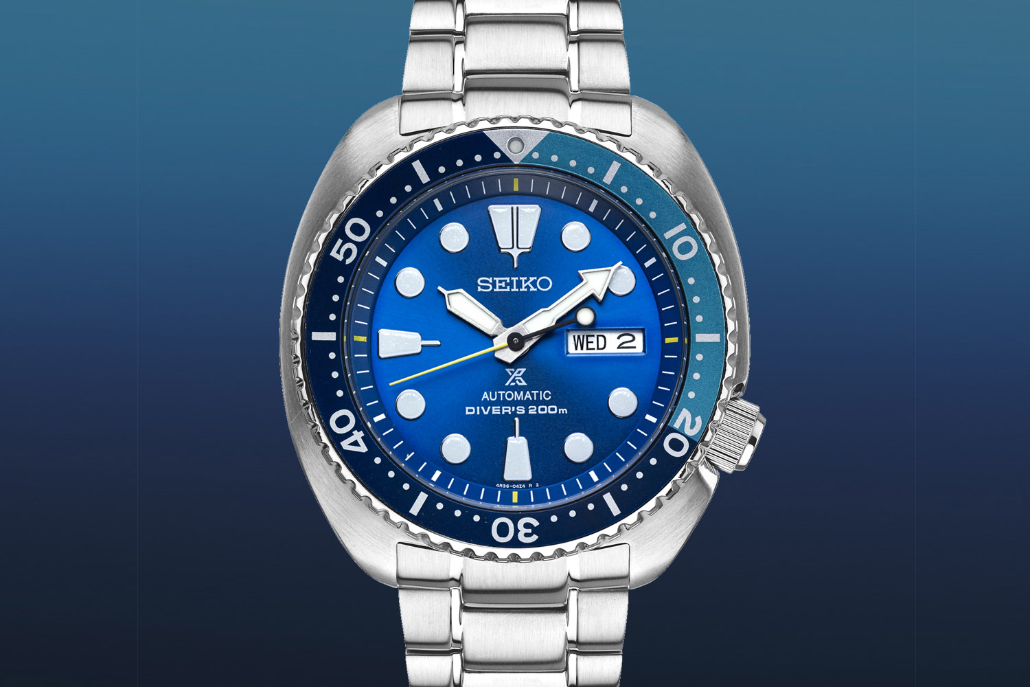 Seiko Prospex Turtle SRPB11 Blue Lagoon Limited Edition
