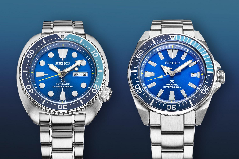 Novedades Seiko (Actualizando) - Página 3 Seiko-Prospex-Turtle-SRPB11-and-Samurai-SRPB09-Blue-Lagoon-Limited-Editions-1