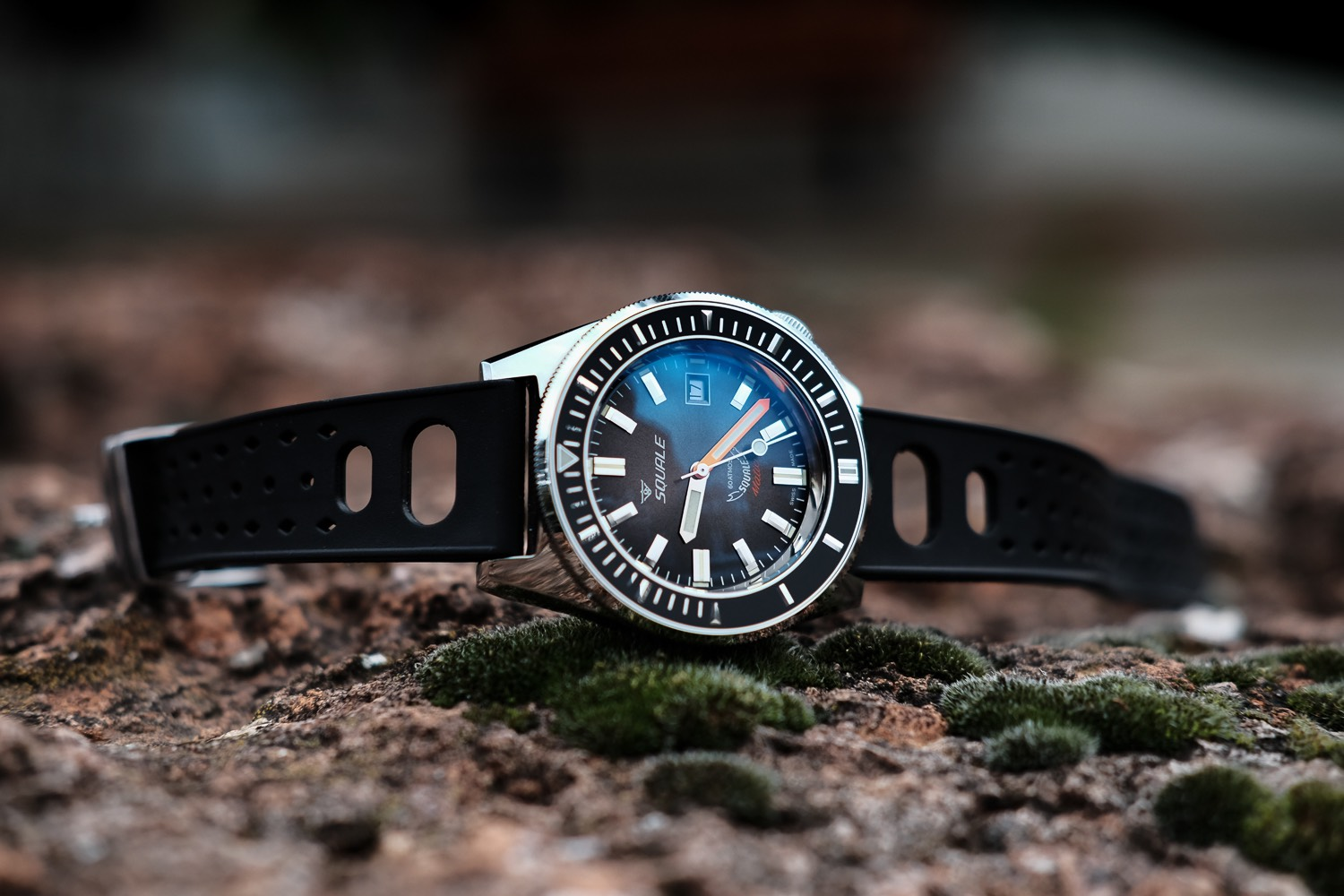 squale blue blu squalematic watches atmos