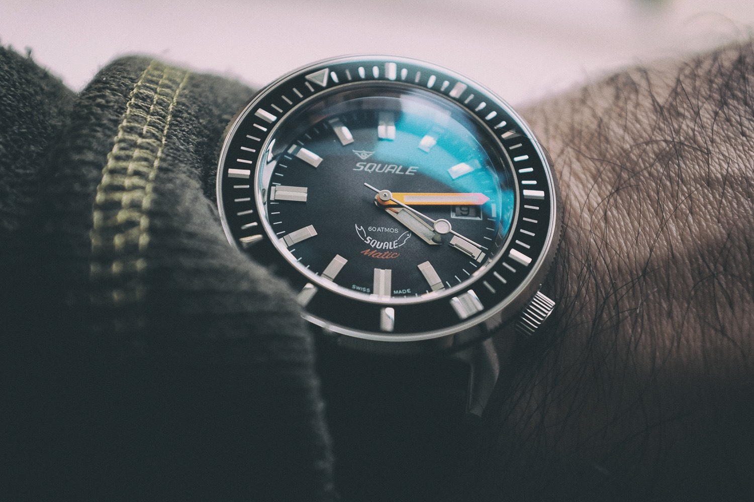 price watch watches review squale dive squalematic atmos monochrome