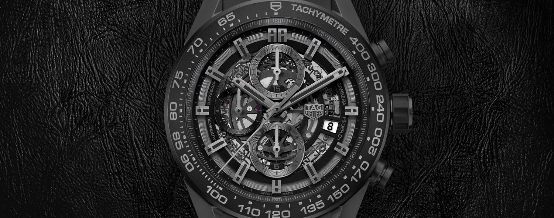 TAG Heuer Carrera Heuer 01 Full Black Matt Ceramic
