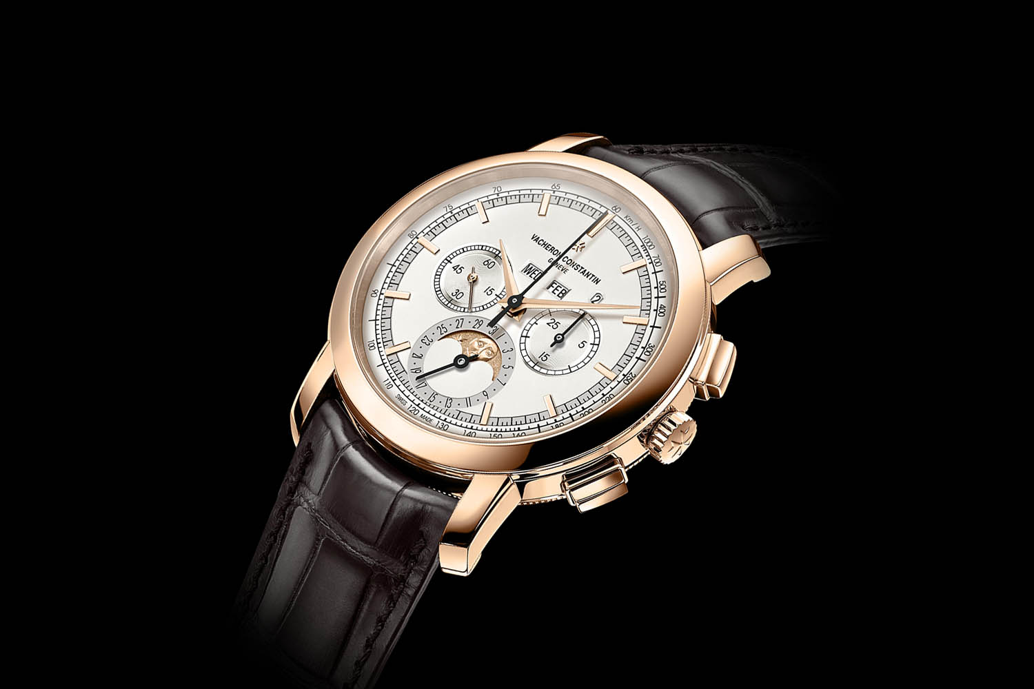 SIHH 2017 – Vacheron Constantin Traditionnelle Chronograph Perpetual Calendar – now available in Pink Gold