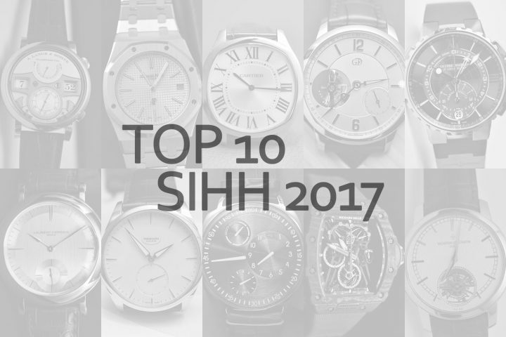 top 10 SIHH 2017 Brice Goulard Monochrome Watches