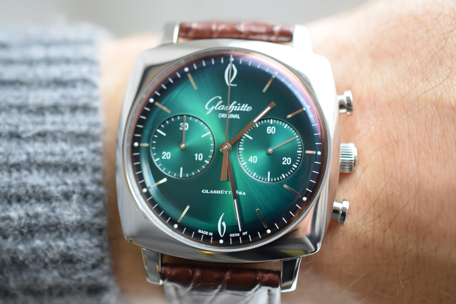 Glashütte Original Makes Colourful Showing At The 67th Berlinale