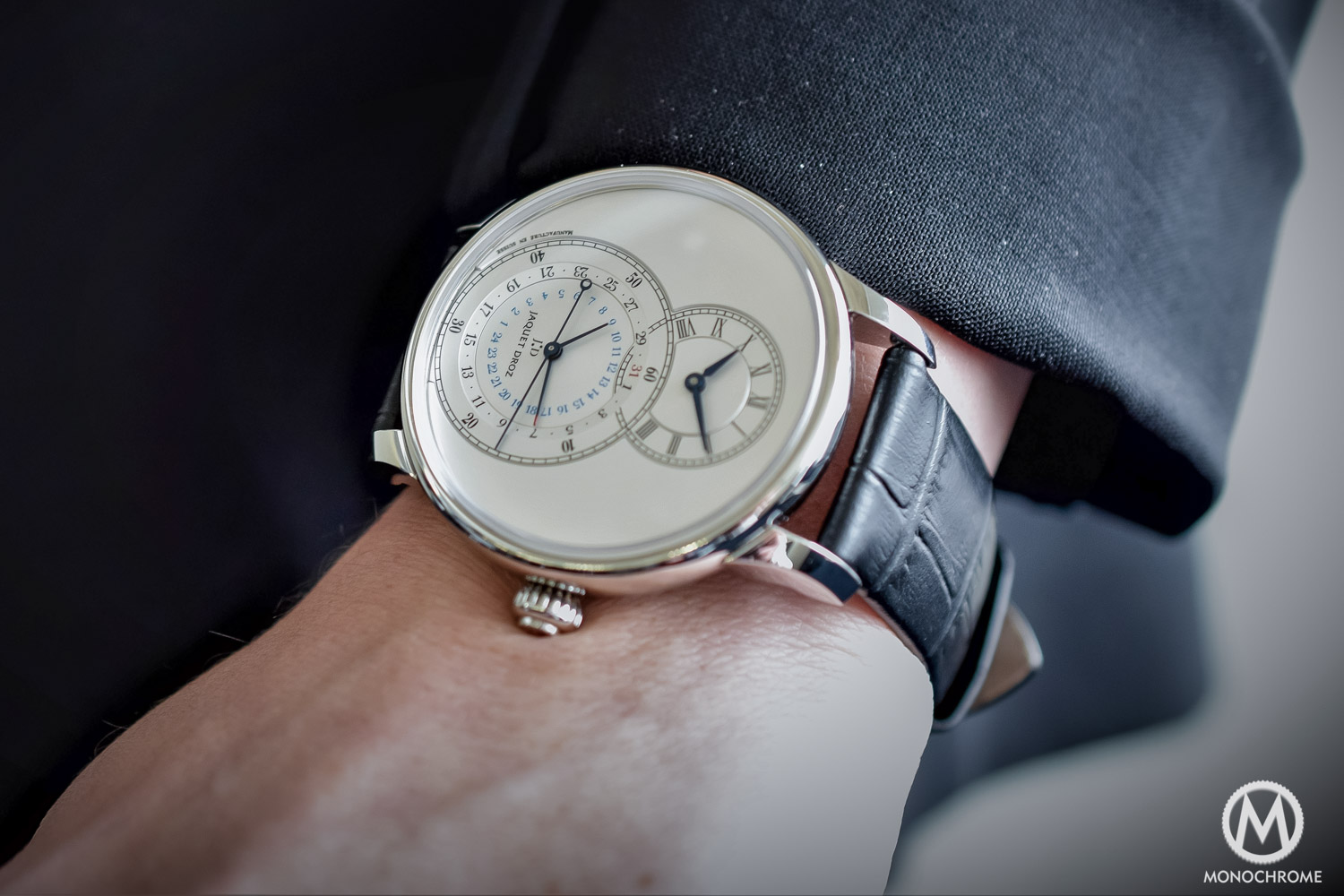 Hands-On – The Jaquet Droz Grande Seconde Dual Time
