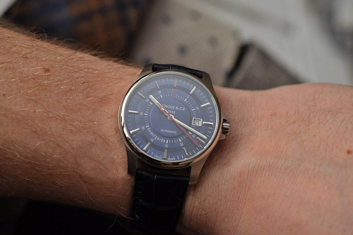 Lebois and Co Avantgarde Date re-launch edition