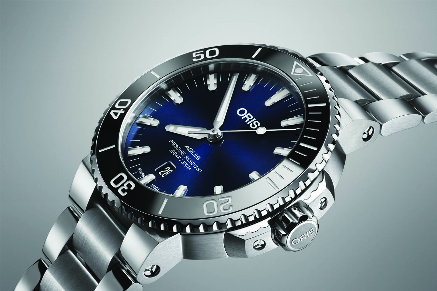 date crown watches oris product big day watch propilot