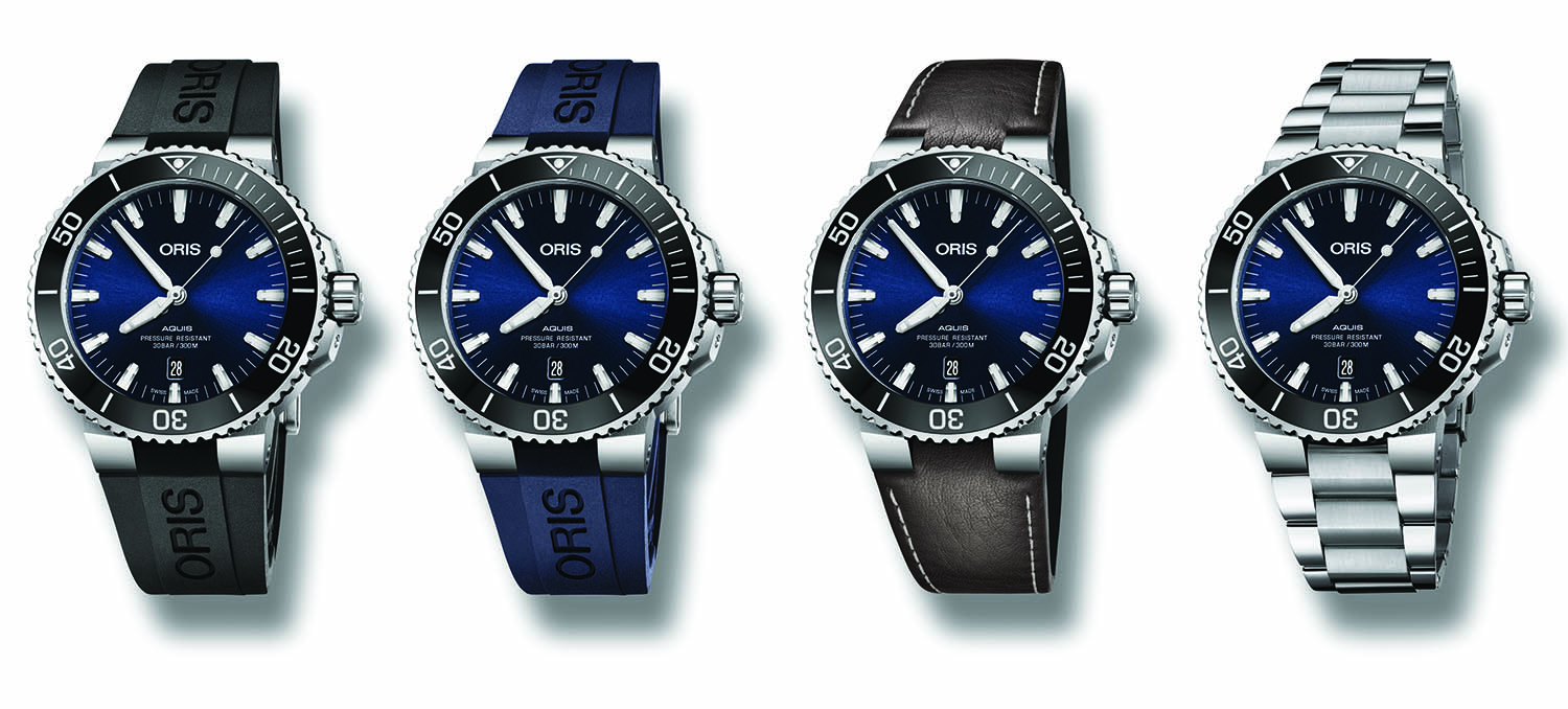 Introducing The Redesigned Oris Aquis Date 2017 Collection