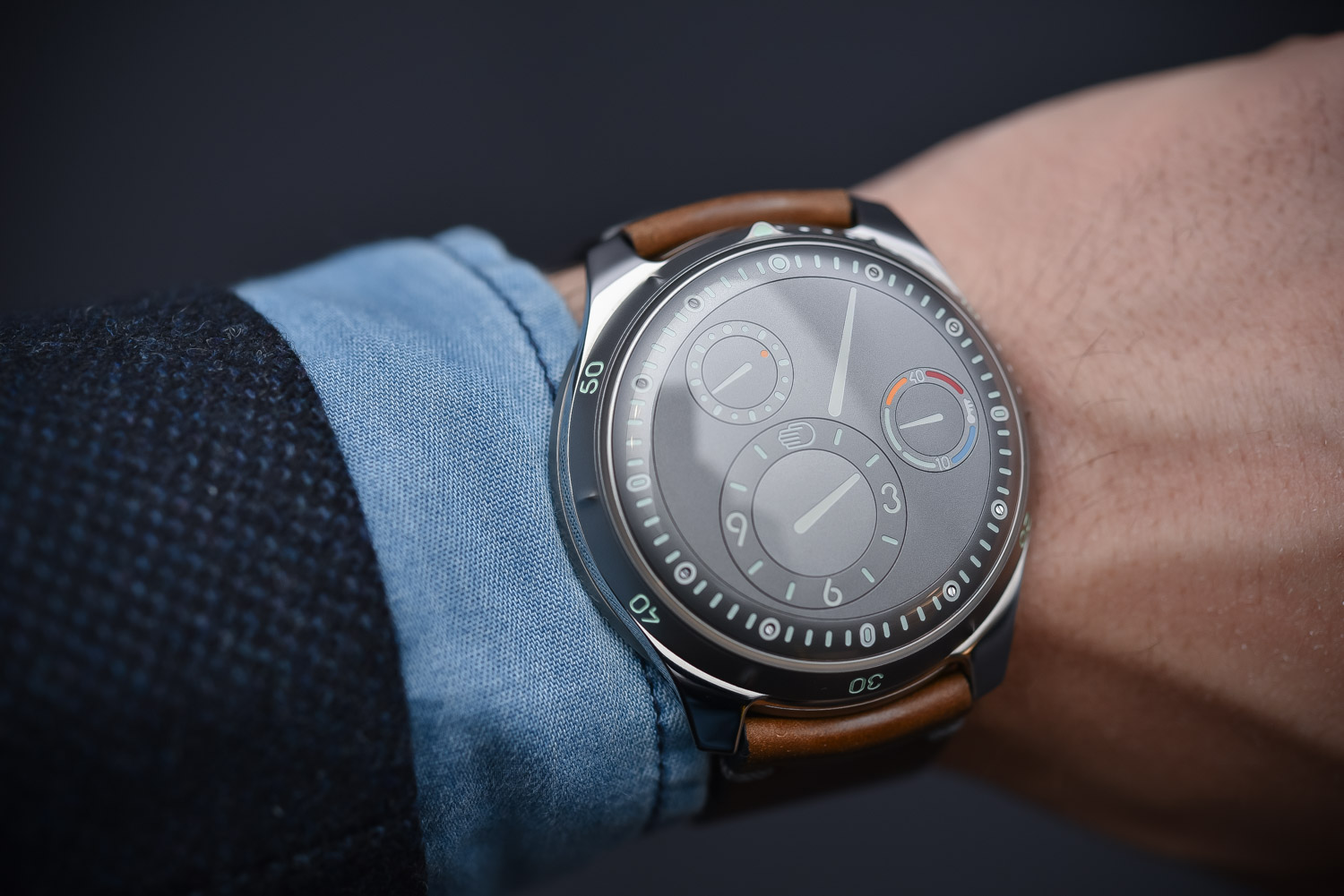 Hands on ressence type 5g full titanium diver specs price for Ressence watches