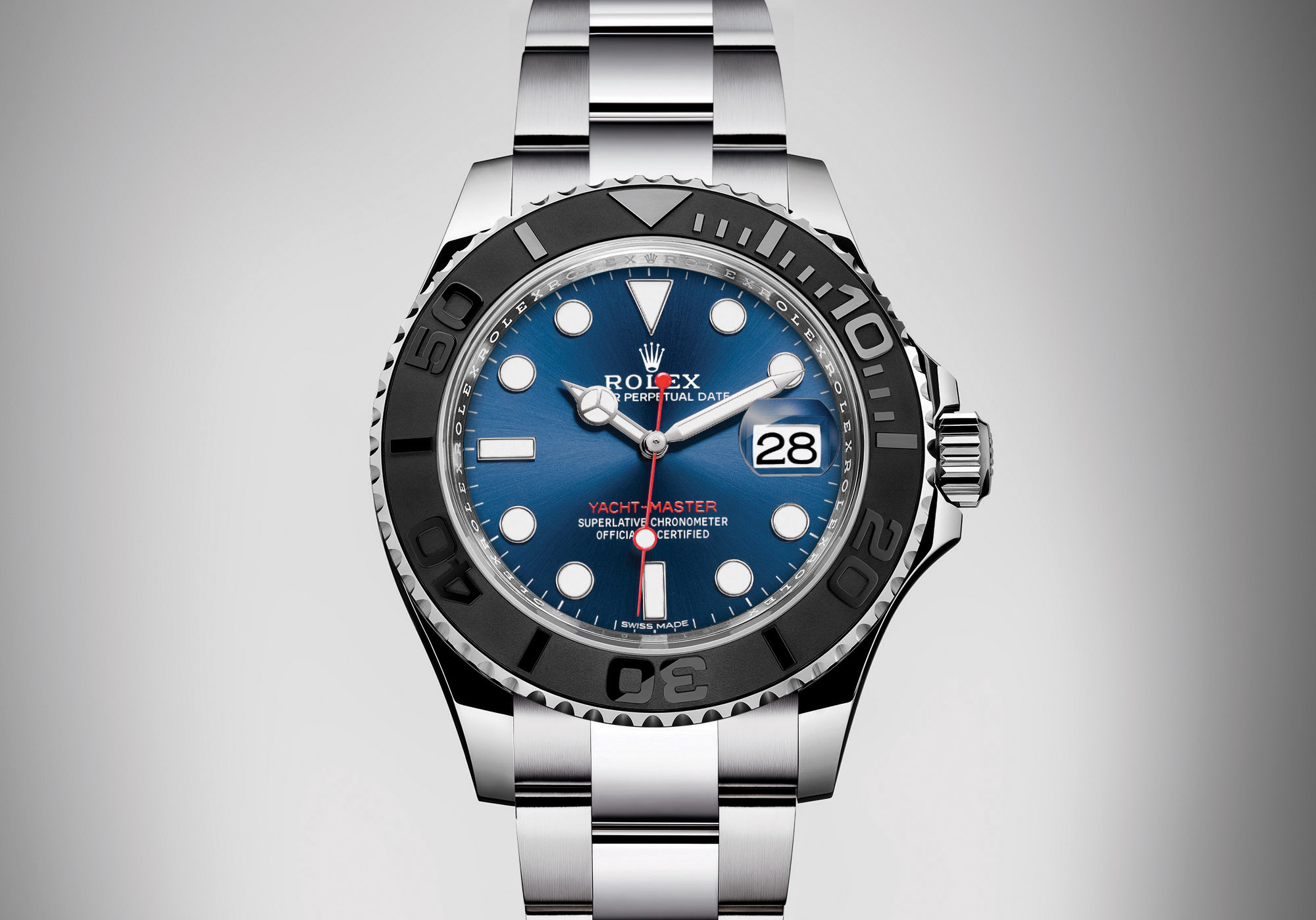 Rolex Yacht Master Steel Ceramic Bezel Blue Dial bracelet - Rolex Baselworld 2017 - Rolex Predictions 2017