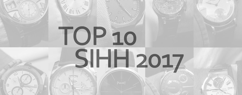 top 10 SIHH 2017 Frank Geelen Monochrome Watches