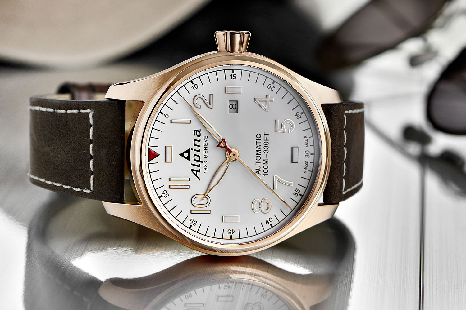 Alpina Startimer Pilot Automatic Baselworld Affordable - Alpina startimer