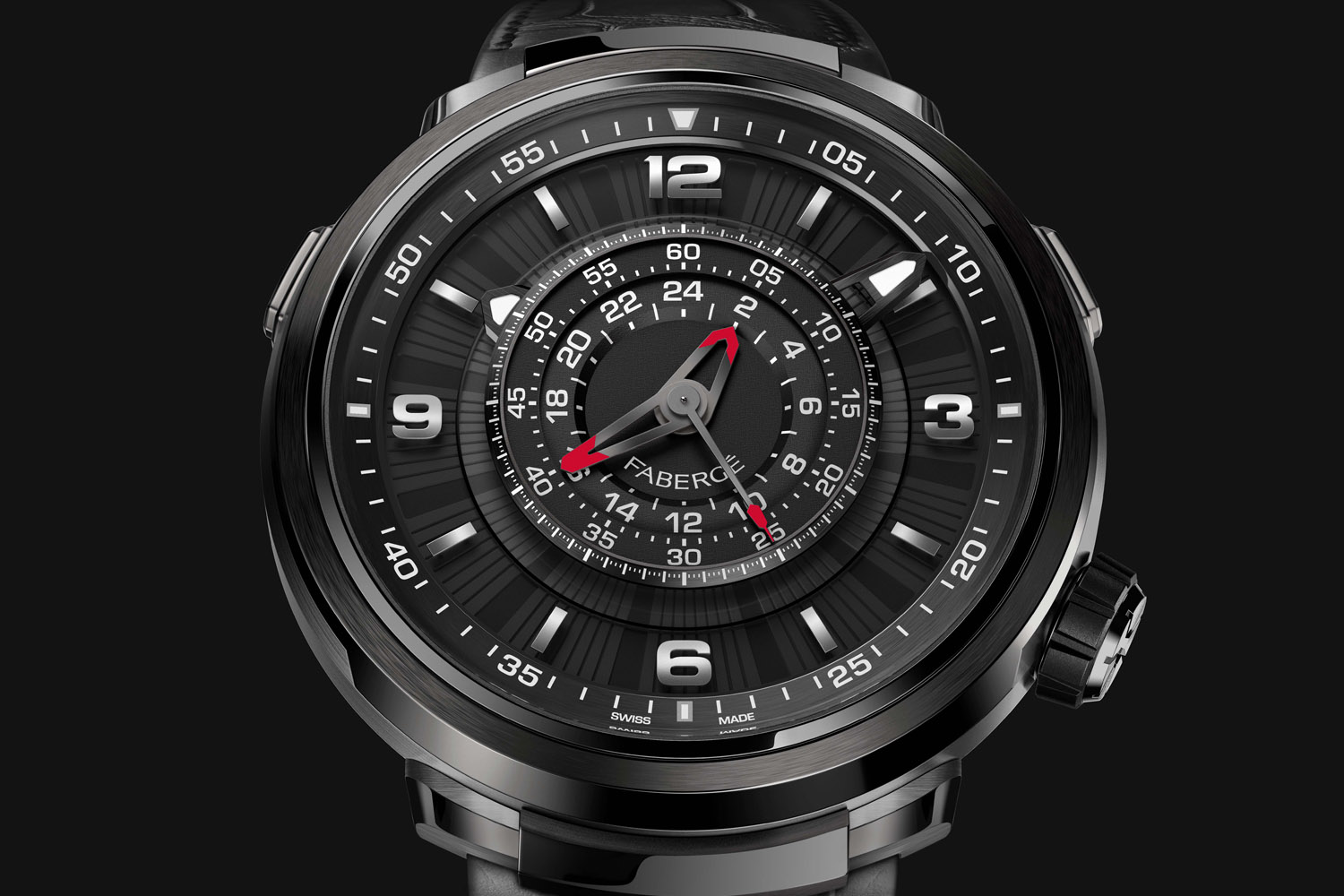 Introducing – Fabergé Visionnaire Chronograph, with Revolutionary Movement by Agenhor (And the Best Video To Explain It)