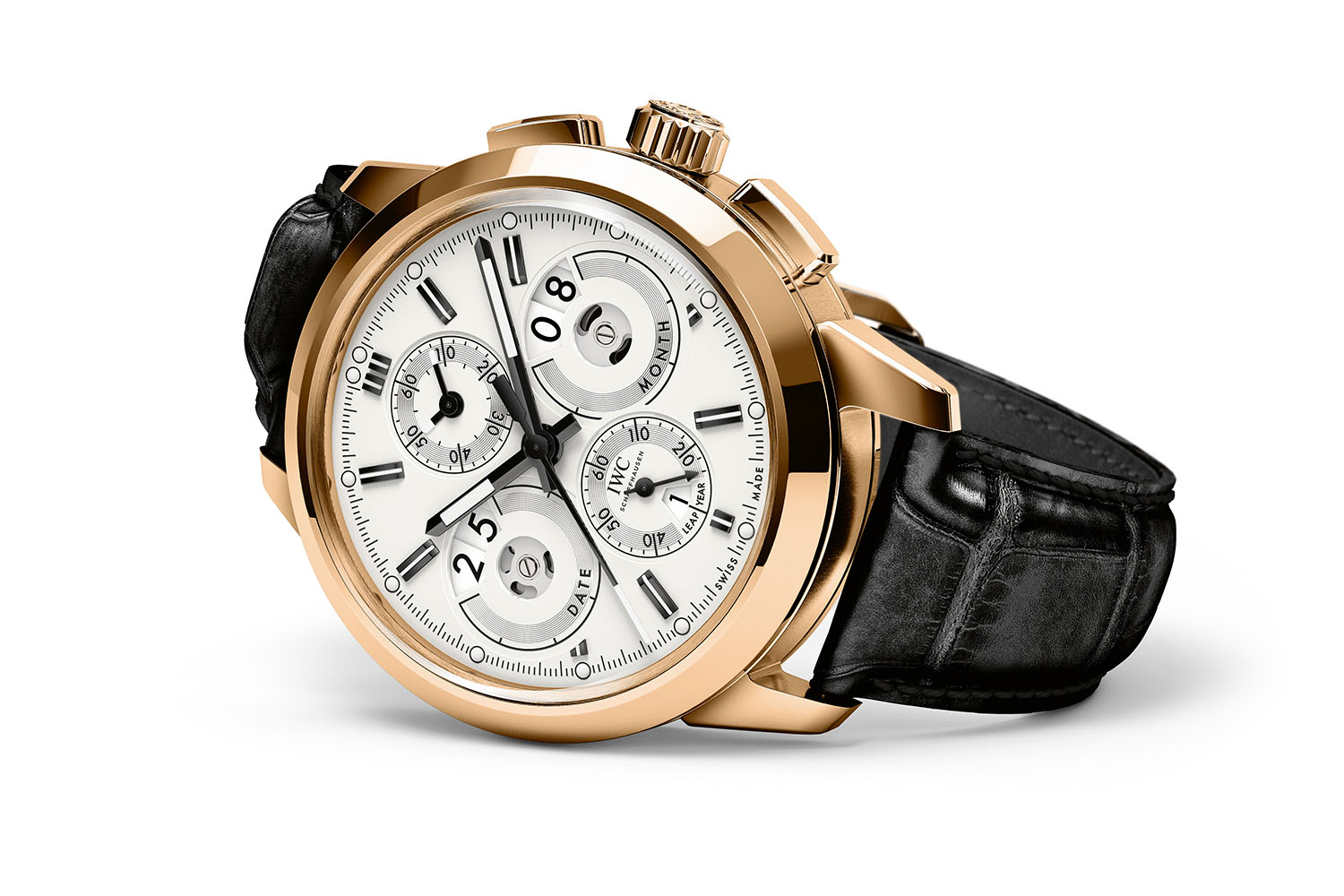 IWC Ingenieur Perpetual Calendar Digital Date-Month 2017 collection vintage IW381701